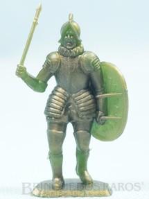1. Brinquedos antigos - Sem identificação - Soldado da Infantaria Espanhola brinde Sucrilhos Kelloggs Década de 1970