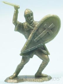1. Brinquedos antigos - Sem identificação - Soldado Cruzado brinde Sucrilhos Kelloggs Década de 1970