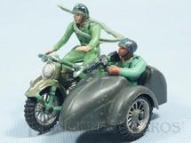 1. Brinquedos antigos - Casablanca e Gulliver - Motocicleta com Sidecar e dois Soldados completa Década de 1970