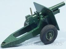 1. Brinquedos antigos - Britains - Canhão de Campanha com 8,00 cm de comprimento Década de 1960