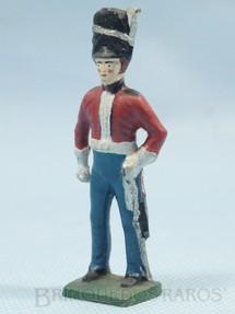 1. Brinquedos antigos - Sem identificação - Soldado Inglês da Cavalaria em Uniforme de Gala Século XIX Década de 1950