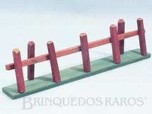 Brinquedos Antigos - Fanabri - Cerca com 26,00 cm de comprimento Batalha do Tuiutí Década de 1960