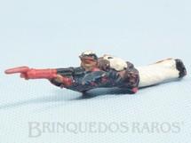 1. Brinquedos antigos - Fanabri - Soldado do Exécito Brasileiro deitado atirando com Fuzil Batalha do Tuiutí Década de 1960