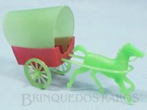 1. Brinquedos antigos - Sem identificação - Carroça com 12,00 cm de comprimento Década de 1970