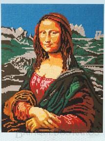 1. Brinquedos antigos - Trol - Mosaico Monalisa painel montado em Ministeck medindo 66,5 x 53,00 cm Década de 1970