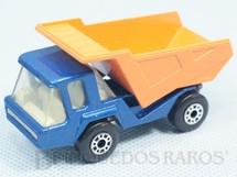 1. Brinquedos antigos - Matchbox - Inbrima - Atlas Truck Superfast azul metálico Brazilian Matchbox Inbrima 1970