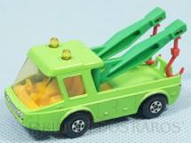 1. Brinquedos antigos - Matchbox - Inbrima - Toe Joe Superfast verde claro Brazilian Matchbox Inbrima Década de 1970