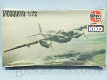 1. Brinquedos antigos - Airfix - Avião Mosquito Caixa Lacrada Década de 1970