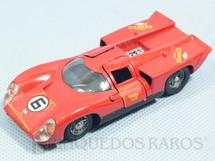 1. Brinquedos antigos - Solido-Brosol - Lola T70 MK3B vermelha Fabricada pela Brosol Solido brésilienne Datada 1-1970