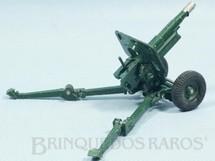 1. Brinquedos antigos - Britains - Canhão de Campanha 105 mm Gun Howitzer com movimento horizontal e vertical Década de 1960