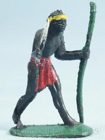 1. Brinquedos antigos - Casablanca e Gulliver - Nativo carregador Série Safari na África Falta a mochila