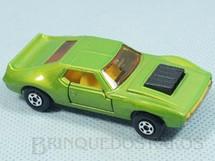 1. Brinquedos antigos - Matchbox - AMX Javelin Superfast verde metálico