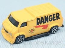 1. Brinquedos antigos - Corgi Toys-Kiko - Hot Rod Custom Van Danger Brazilian Corgi Jr Kiko Década de 1980