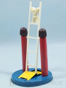 1. Brinquedos antigos - Metalma - Boneco que desce Escada 18,00 cm de altura Década de 1960