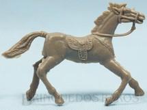 1. Brinquedos antigos - Casablanca e Gulliver - Cavalo de Cowboy marrom sem pintura de Fábrica numerado 1