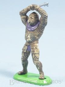 1. Brinquedos antigos - Britains - Guerreiro Medieval a pé com clava 7,00 cm de altura Década de 1980
