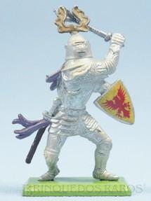 1. Brinquedos antigos - Britains - Guerreiro Medieval a pé com escudo e clava Série Deetail Década de 1970