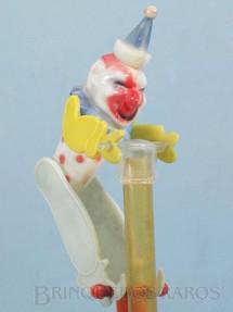 1. Brinquedos antigos - Sem identificação - Palhaço Malabarista com 12,00 cm de altura Brinde que vinha em doce Década de 1960