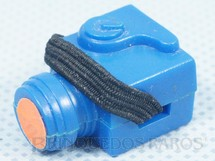 1. Brinquedos antigos - Estrela - Máquina Fotográfica azul Aventura busca Perigosa Série 1981