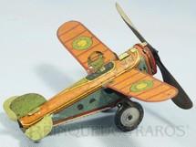 1. Brinquedos antigos - Metalma - Avião com 20,00 cm de envergadura Década de 1940