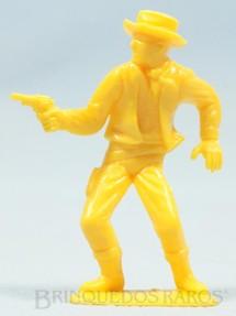 1. Brinquedos antigos - Estrela - Cowboy a pé com revolver Conjunto Grand Canyon  Ano 1985
