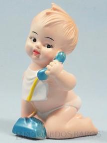 1. Brinquedos antigos - Estrela - Boneco Tlim-Tlim 11,00 cm de altura com apito Ano 1968