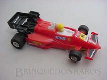 1. Brinquedos antigos - Politoys e Polistil - Ferrari 126C Turbo formula 1 piloto Micheli Arboreto Polistil Década de 1980