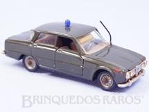 1. Brinquedos antigos - Politoys e Polistil - Alfa Romeo Giulia TI versão dos Carabinieri Década de 1970