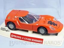 1. Brinquedos antigos - Politoys e Polistil - Alfa Romeo OSI Scarabeo com 15,00 cm de comprimento Década de 1970