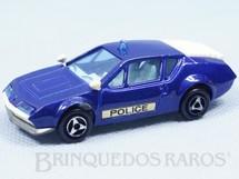 1. Brinquedos antigos - Majorette-Kiko - Alpine A310 Police Majorette Brésilien Kiko Década de 1980
