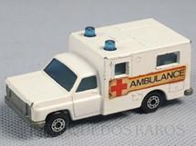 1. Brinquedos antigos - Matchbox - Ambulance Superfast