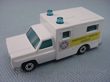 1. Brinquedos antigos - Matchbox - Ambulance Superfast Emergency Medical Service