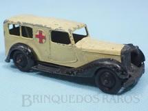 1. Brinquedos antigos - Dinky Toys - Ambulância Ambulance ano 1935 a 1940