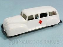 1. Brinquedos antigos - Resinta Rio - Ambulância com 11,00 cm de comprimento Década de 1960