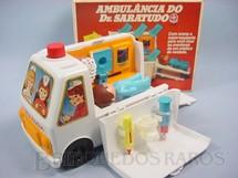 1. Brinquedos antigos - Estrela - Ambulância do Dr. Saratudo Década de 1980