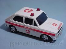 1. Brinquedos antigos - Estrela - Ambulância Fiat 147 Década de 1980