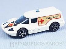 1. Brinquedos antigos - Corgi Toys-Corgi Jr. - Ambulância Healer wheeler Corgi Jr