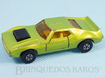 Brinquedos Antigos - Matchbox - AMX Javelin Superfast verde metálico