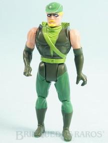 1. Brinquedos antigos - Estrela - Arqueiro Verde articulado falta o Arco Coleção Super Powers Ano 1988
