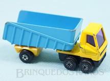 1. Brinquedos antigos - Matchbox - Articulated Truck Superfast cabine amarela