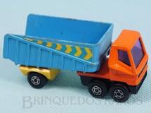 1. Brinquedos antigos - Matchbox - Articulated Truck Superfast cabine laranja