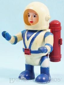 1. Brinquedos antigos - Trol - Astronauta Billy Blastoff com 12,00 cm de altura Década de 1960