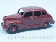 1. Brinquedos antigos - Dinky Toys - Austin Devon Saloon marrom Ano 1949 a 1953