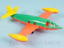 1. Brinquedos antigos - Beija Flôr - Avião a jato com 14,00 cm de comprimento Inscrição VARIG A MAIOR na asa esquerda Década de 1950