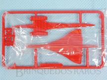1. Brinquedos antigos - Sem identificação - Avião Aérospatiale Concorde BAC com 3,00 cm de envergadura Brinde dos Sucrilhos Kelloggs Embalagem lacrada ainda por montar Década de 1960