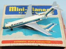 1. Brinquedos antigos - Bachmann - Avião Boeing 727 Eastern com 8,00 cm de envergadura Série Mini Planes Década de 1970