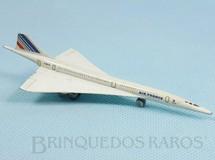 1. Brinquedos antigos - Schuco - Avião Aérospatiale Concorde Air France com 12,00 cm de comprimento Década de 1980