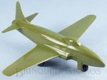 1. Brinquedos antigos - Sem identificação - Avião de caça Lockheed F-80 Shooting Star com 21,00 cm de envergadura Década de 1950