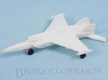 1. Brinquedos antigos - Sem identificação - Avião de caça Mig 31 com 8,00 cm de comprimento Brinde Mandiopã Década de 1970