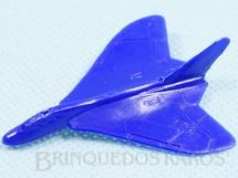 Brinquedos Antigos - Sem identificação - Avião Douglas F4D Skyray com 4,50 cm de envergadura Brinde dos Sucrilhos Kelloggs Década de 1960